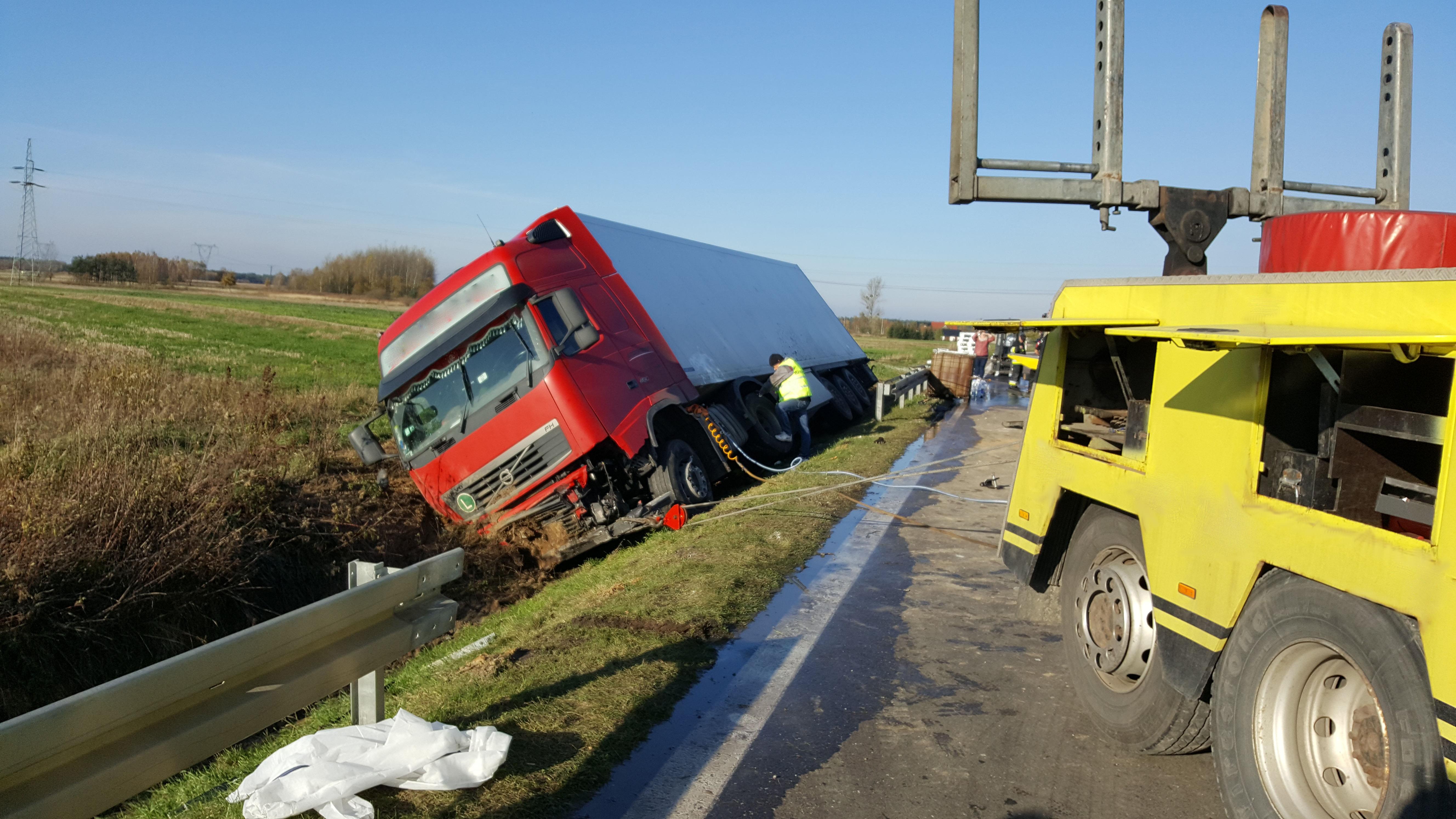 wyciąganie ciężarówki